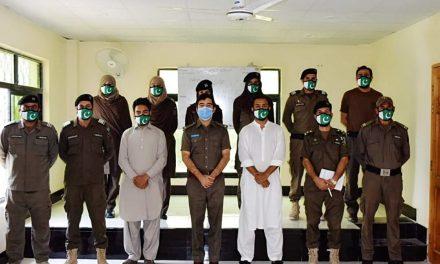 सेन्चुरी टाईम्सको पार्टनर कम्पनी Z डिज़ाइन द्वारा पाकिस्तानको सुरक्षाकर्मीहरुलाई बिशेष मास्क प्रदान