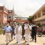 मुख्यमन्त्री राउत द्वारा प्रादेशिक अस्पताल जनकपुरको निरीक्षण